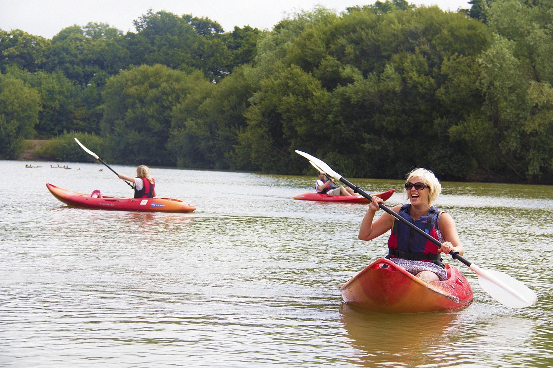 Kayak Hire New Forest, explore the Beaulieu River.