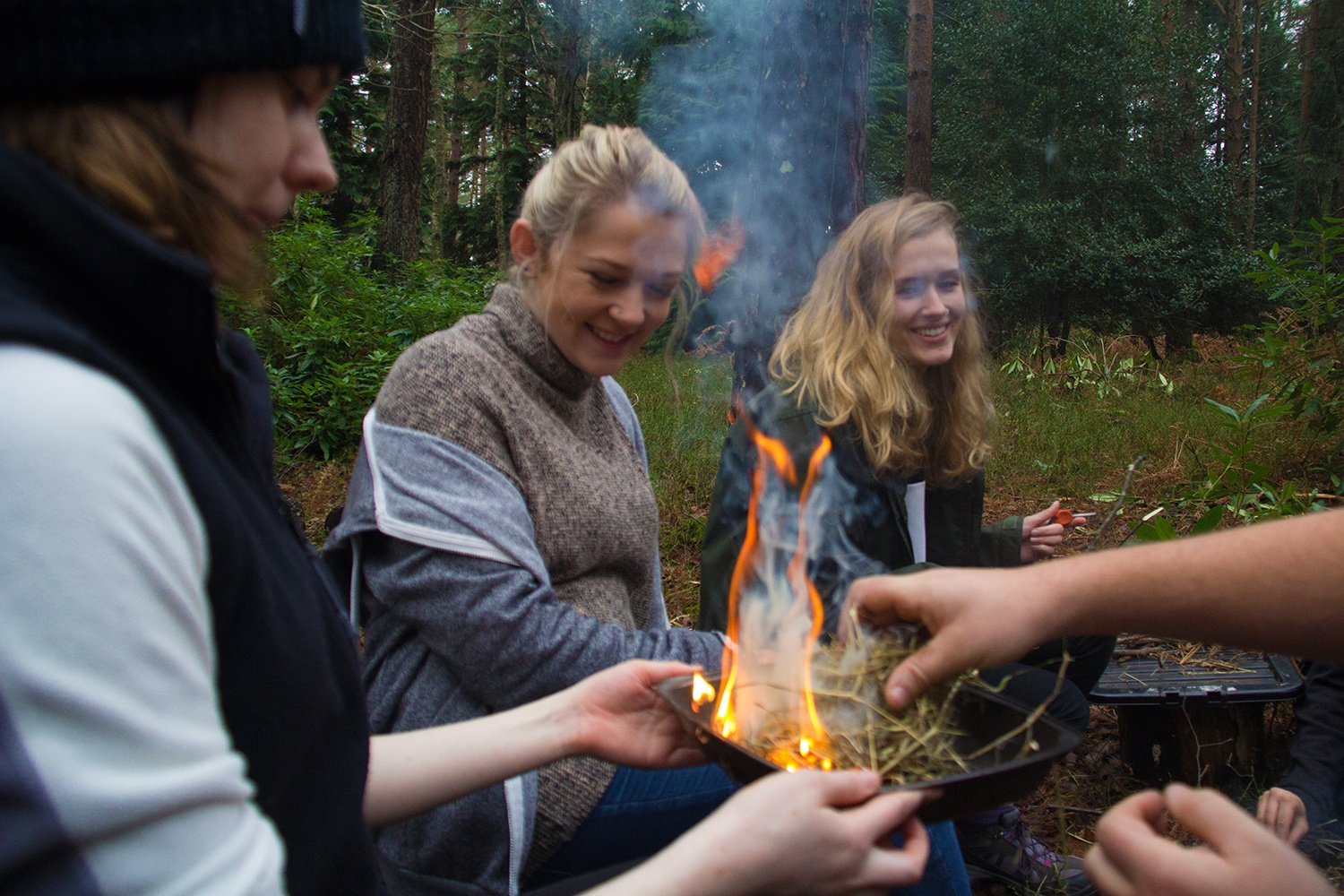 Bushcraft Hen Parties in The New Forest.