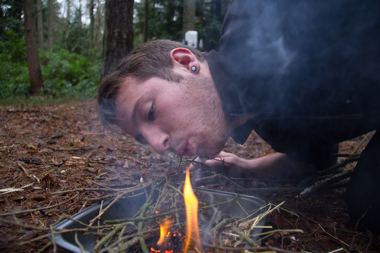 Bushcraft Stag Parties in The New Forest.