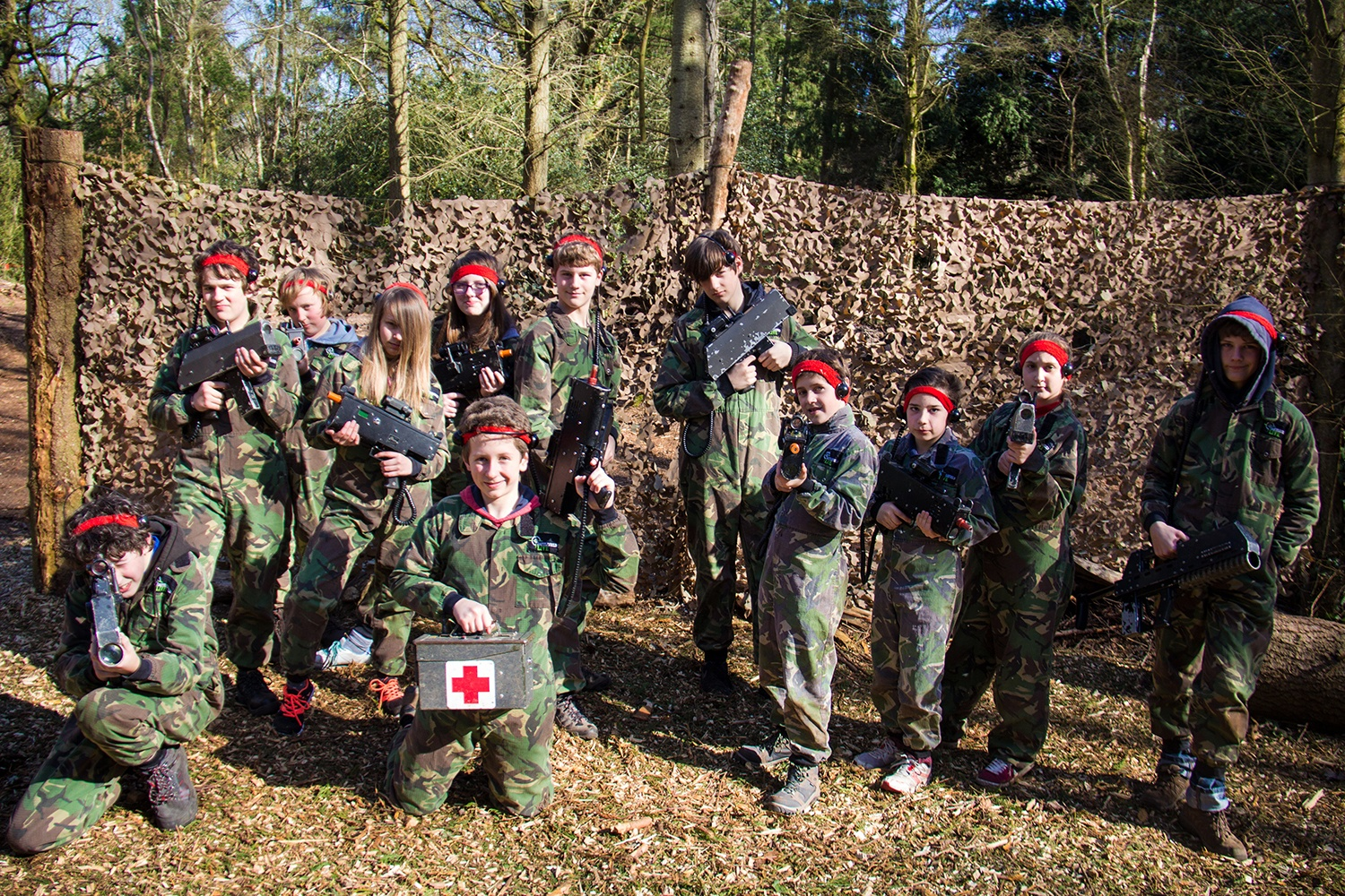 Battlefield LIVE, our most popular choice for Kids Parties.