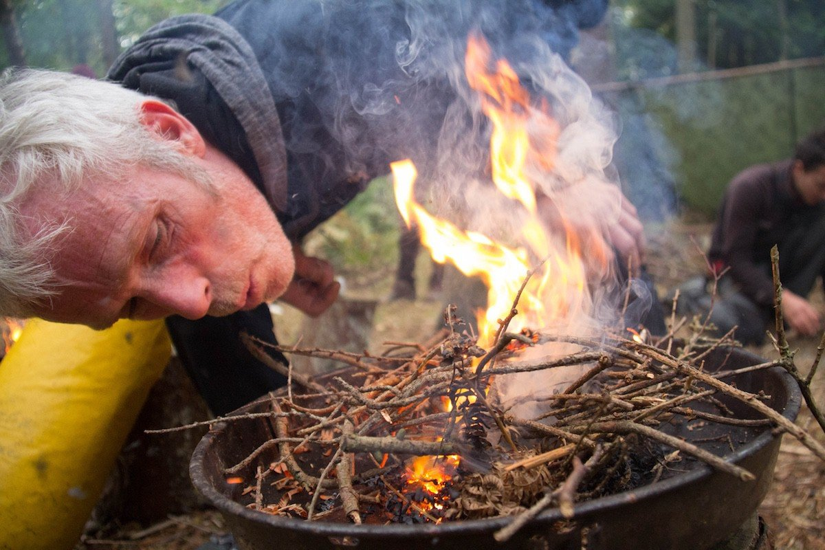 Bushcraft for groups in The New Forest