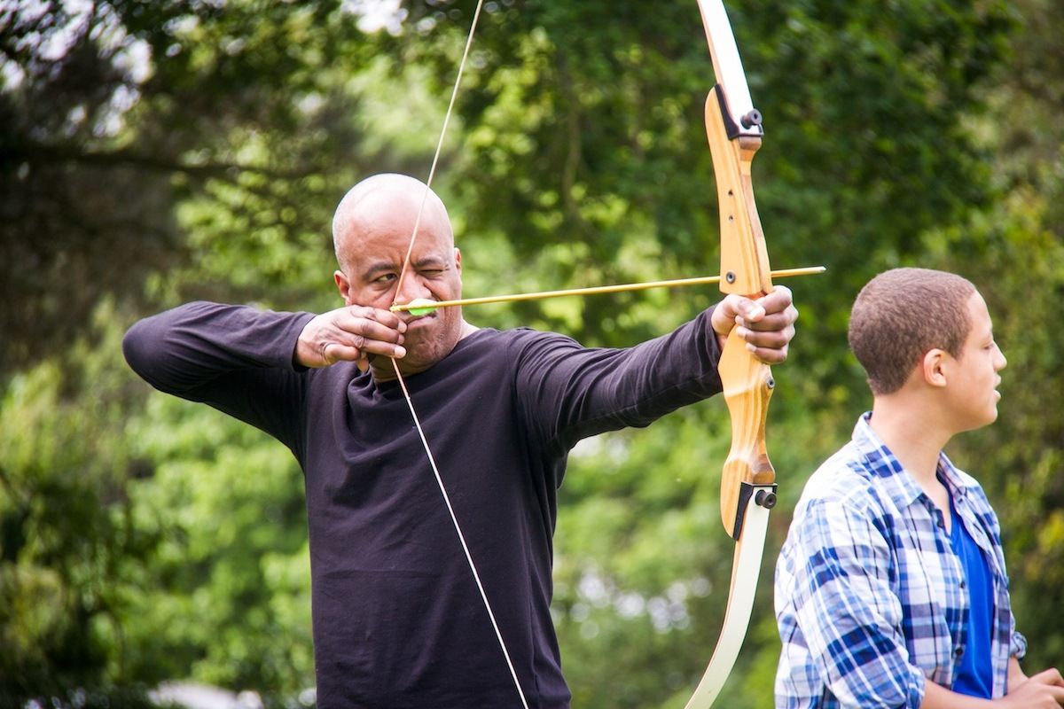 Archery Stag Parties in The New Forest.
