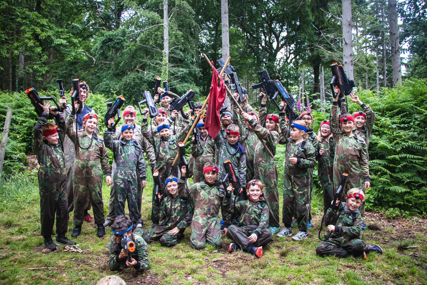 Our Battlefield LIVE school trips are always popular.