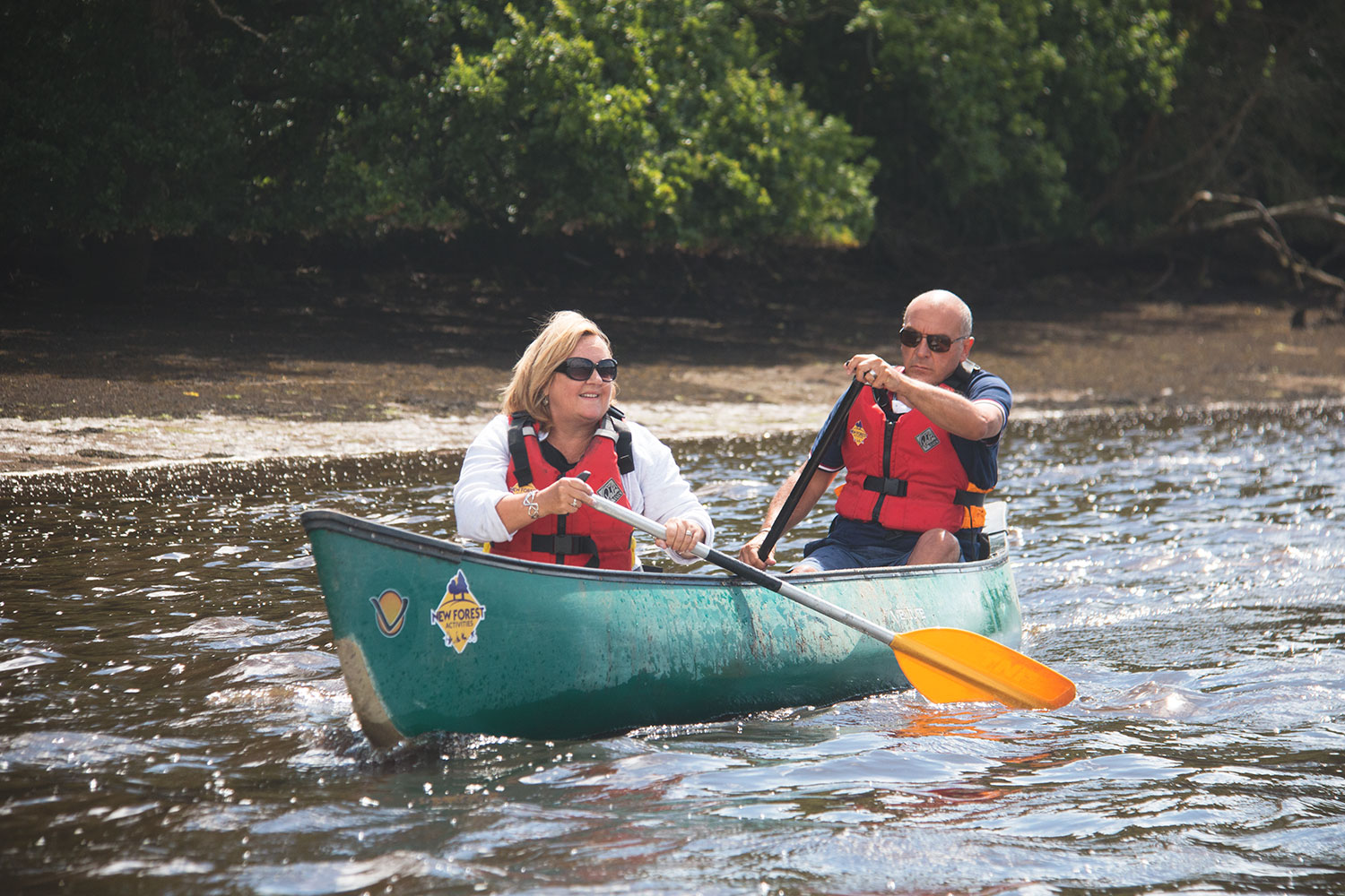 Activities for couples available mid week, outside of school holidays.