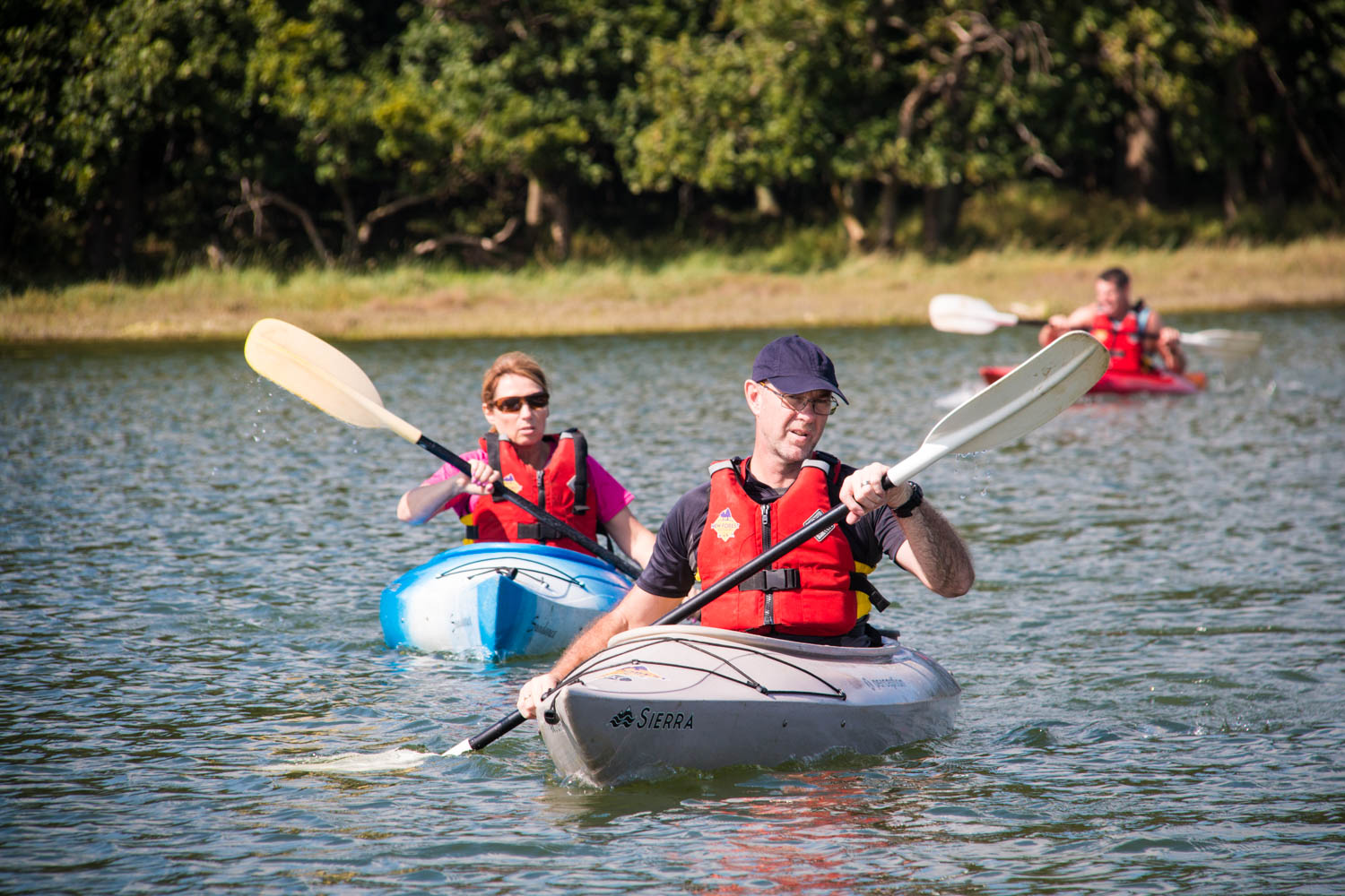 Kayaking is just one of the activities for couples that we offer.