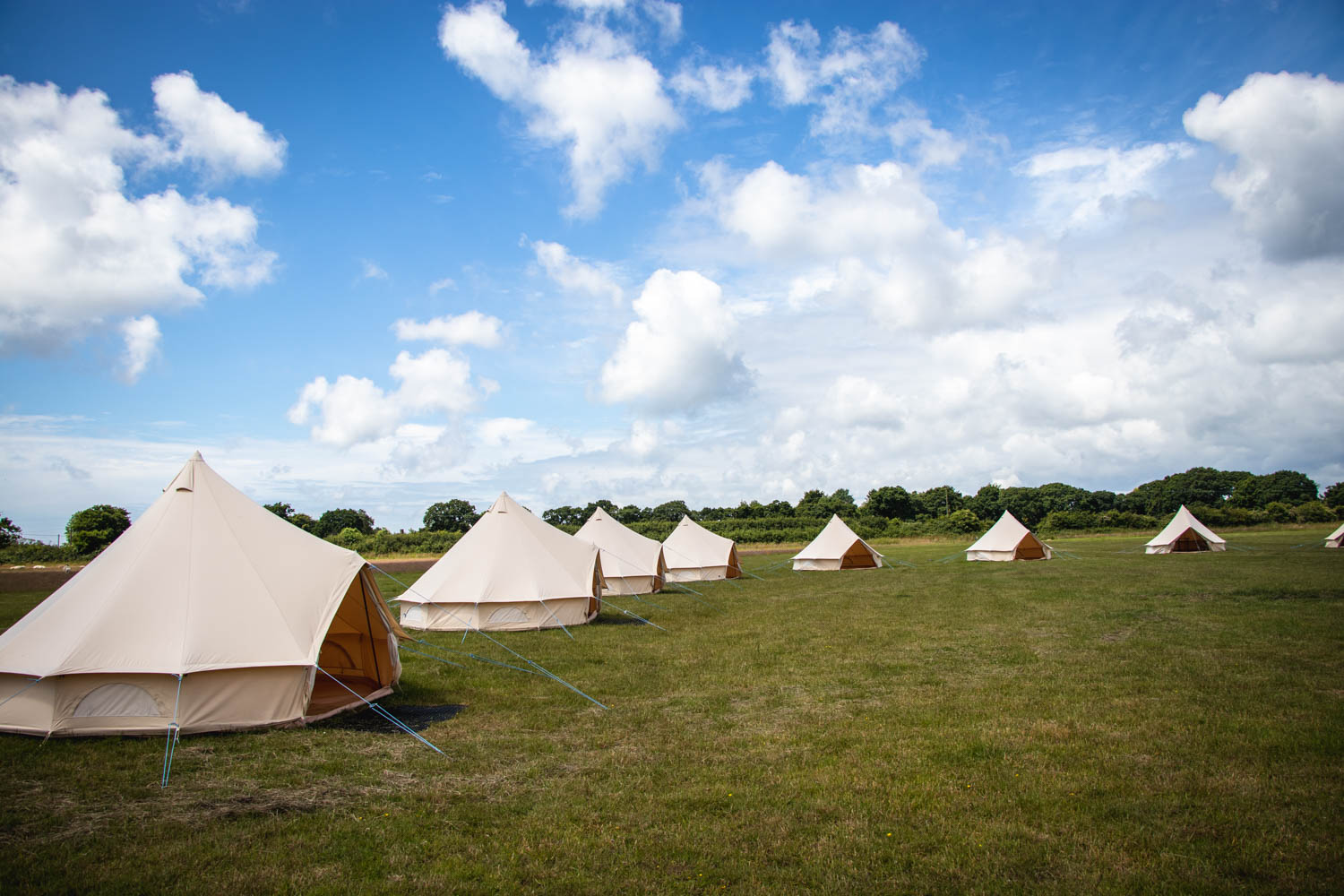 Incorporate camping into your youth activities residential trip.