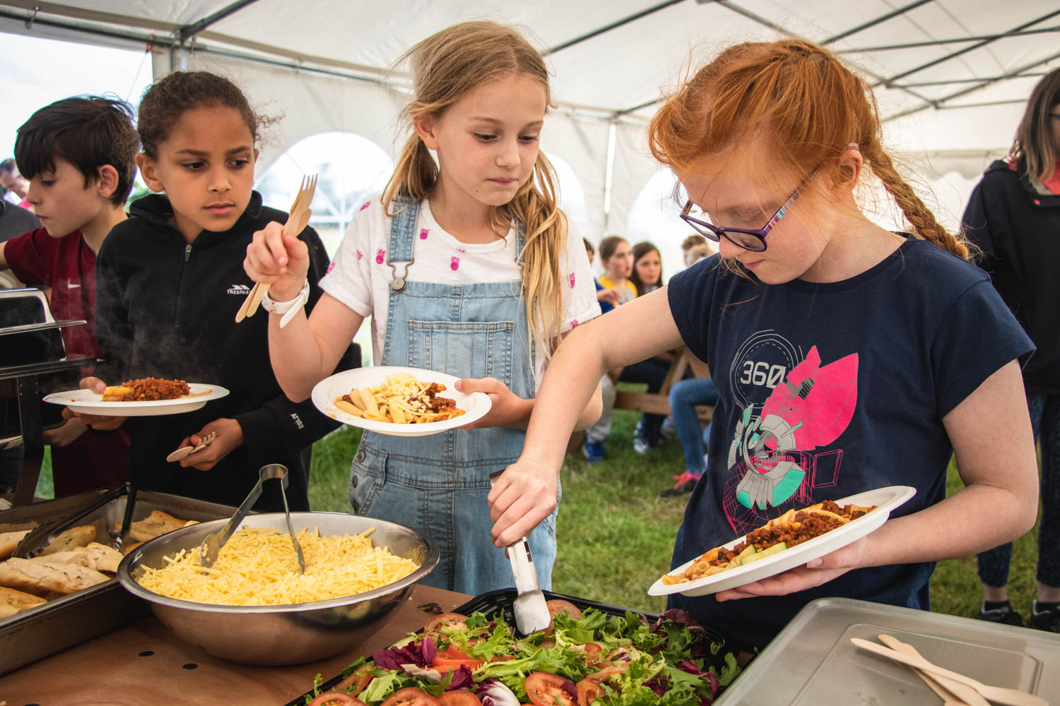 Youth activities are fun and involving. We offer catering options too.