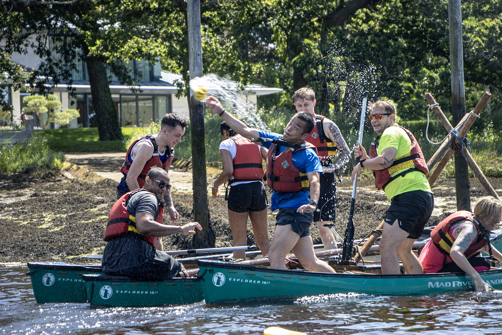 Your Canoe Raft Building Questions, Answered