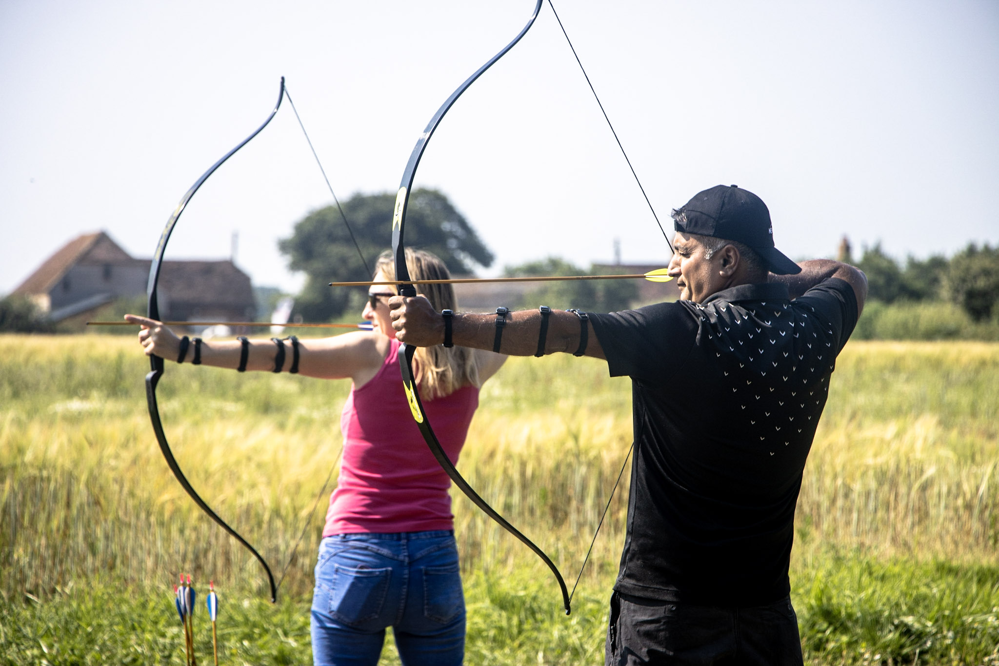 Fun activities for couples in The New Forest, including archery.