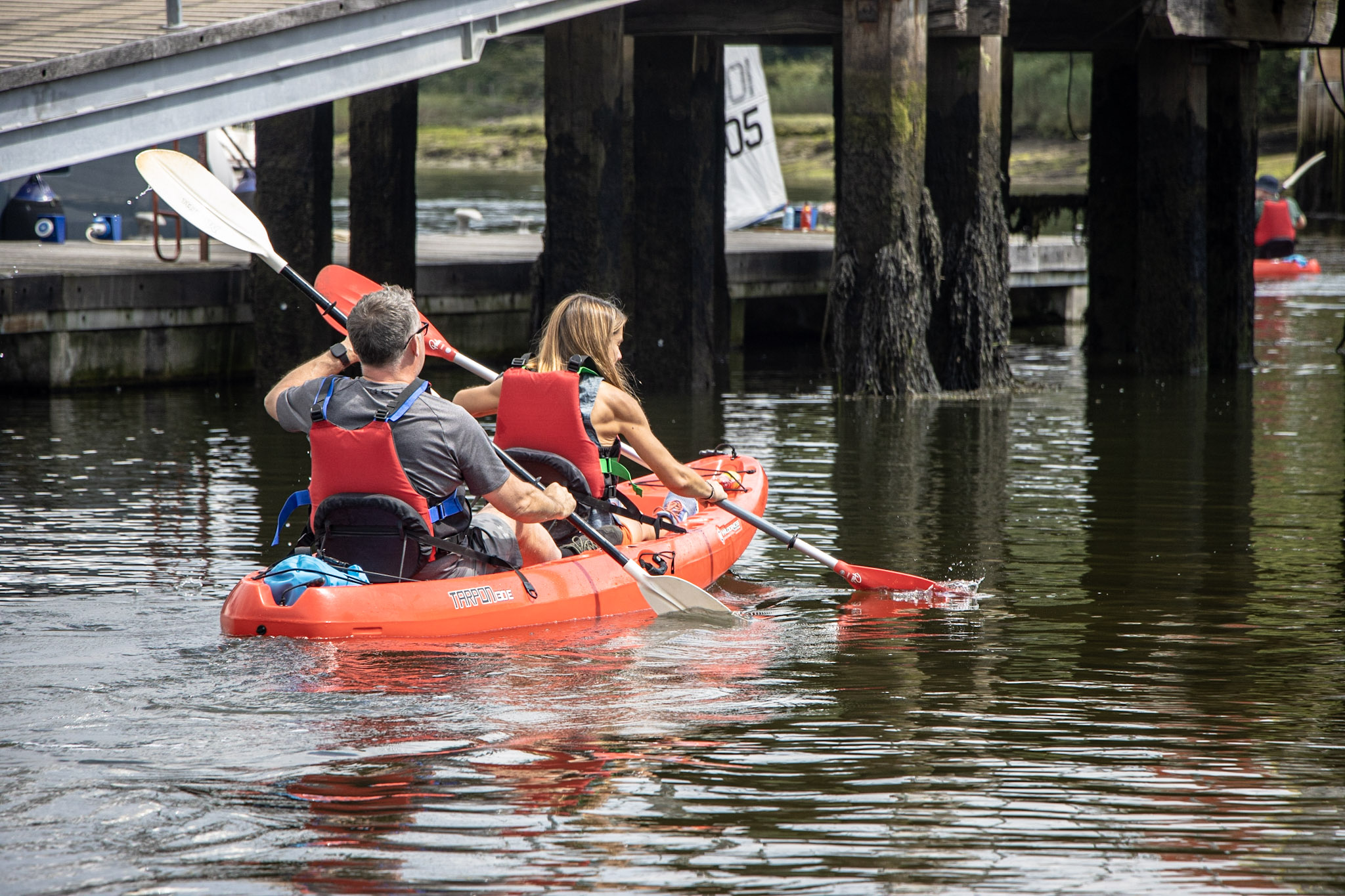 Looking for different activities for couples? Hire some kayaks and hit the water!