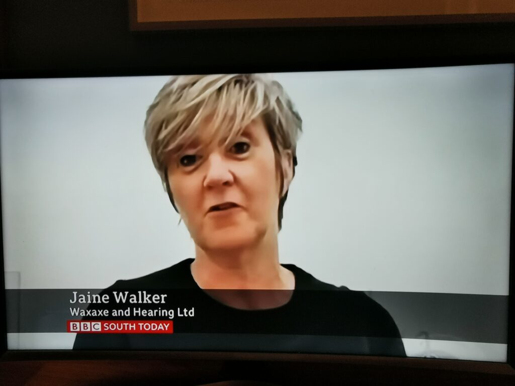 Jaine Walker on BBC South Today