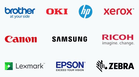 Ink and toner brands