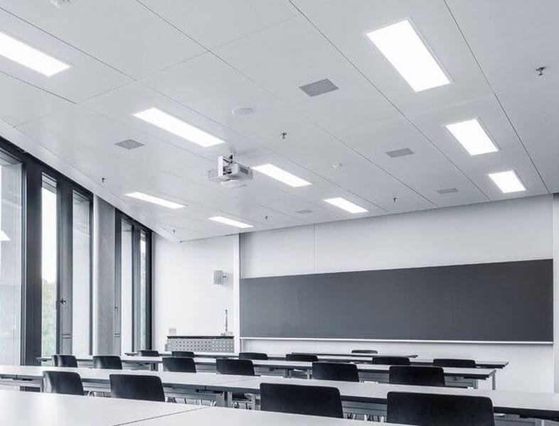 School LED light testing