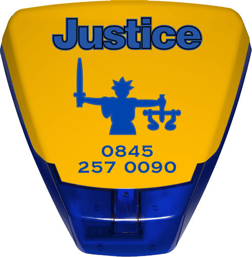 Justice Fire and Security sounder