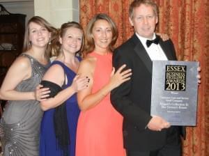 Award winners and proud …