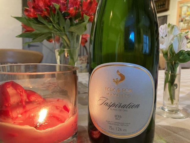 Sparkling Pinot Gris. A first for the UK