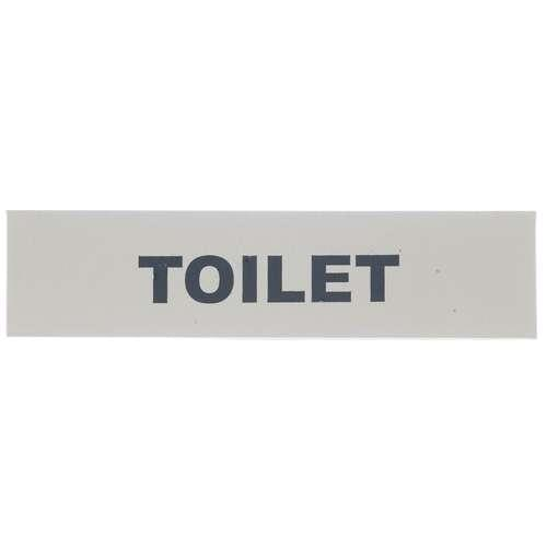 2503 SAA 'TOILET' SIGN S/A