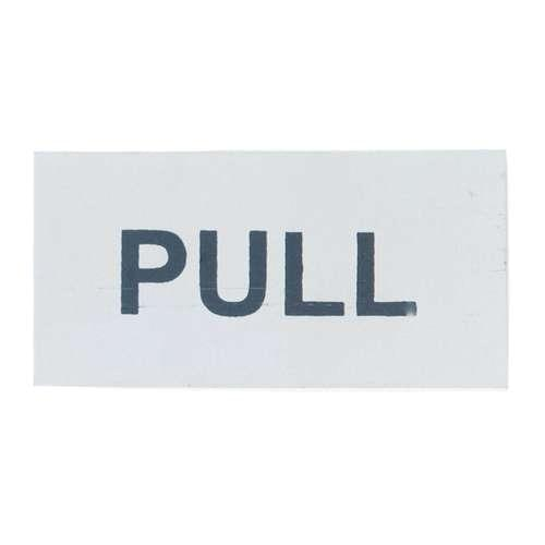 2503 75 X 35MM SAA 'PULL' SIGN S/A