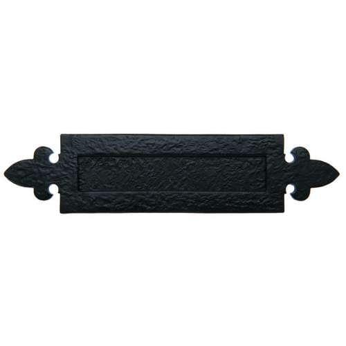 BA05.3 BLACK ANTIQUE 360 X 70MM LETTER PLATE