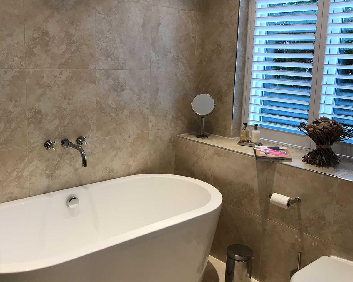 2 Large Bathrooms, Detached House, Wilmslow, Cheshire before 3