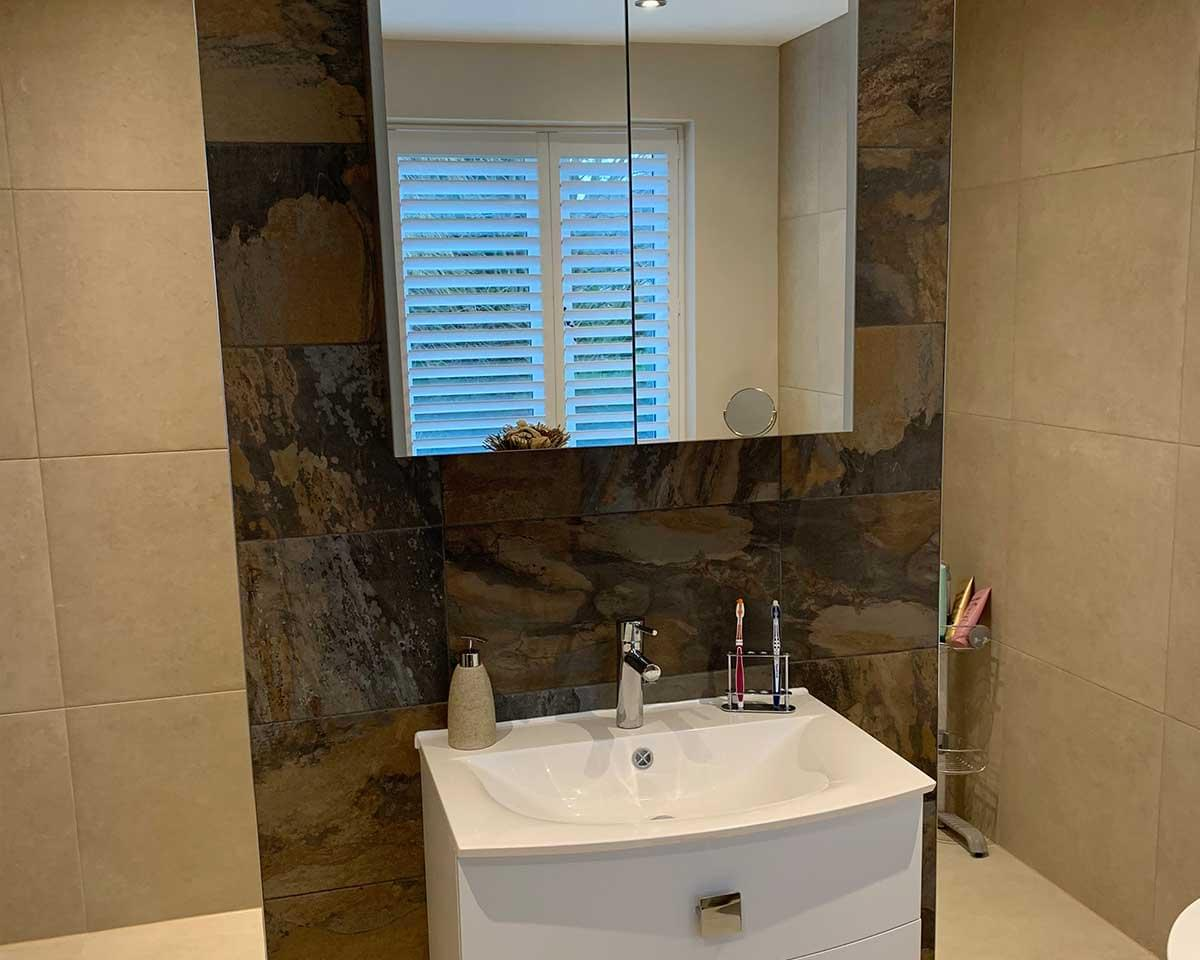 2 Large Bathrooms, Detached House, Wilmslow, Cheshire 4