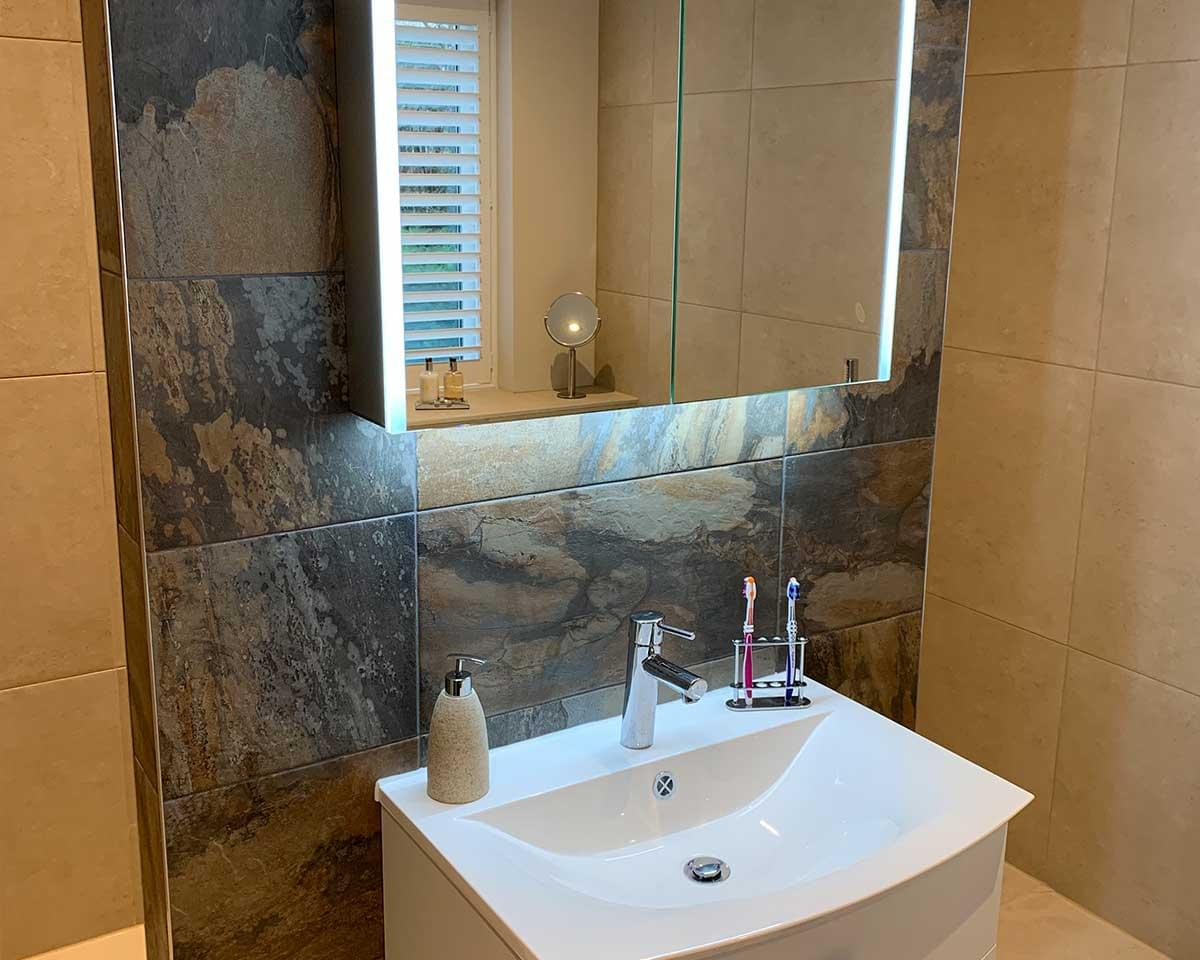 2 Large Bathrooms, Detached House, Wilmslow, Cheshire 9