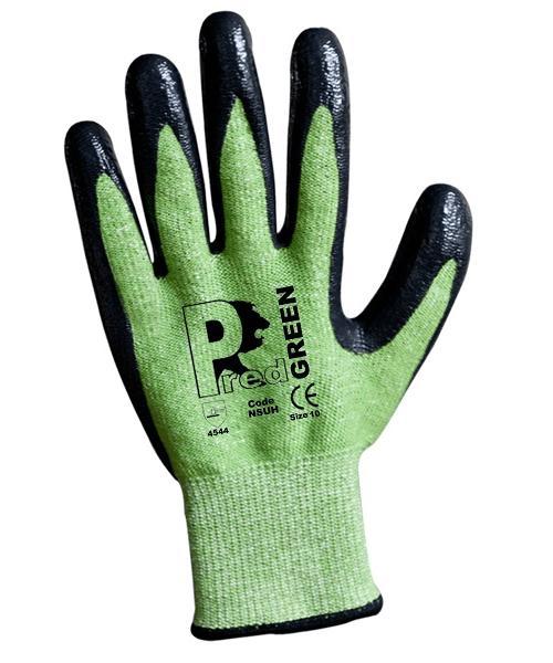 HD-NSUH Pred Pine Smooth Nitrile Cut 5 Gloves