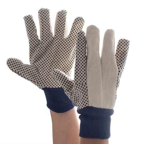 Supertouch polka dot gloves 12oz