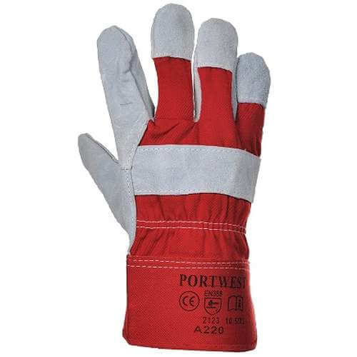 Chrome Leather Rigger Glove