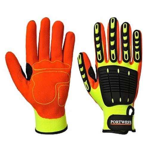 A721 Anti impact grip glove