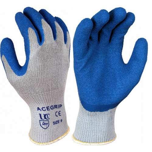 Premium latex coated glove
