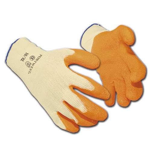A100 Orange/Green Premium Grip Glove