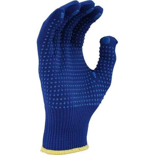 Economical Blue Polyester shell with dotting