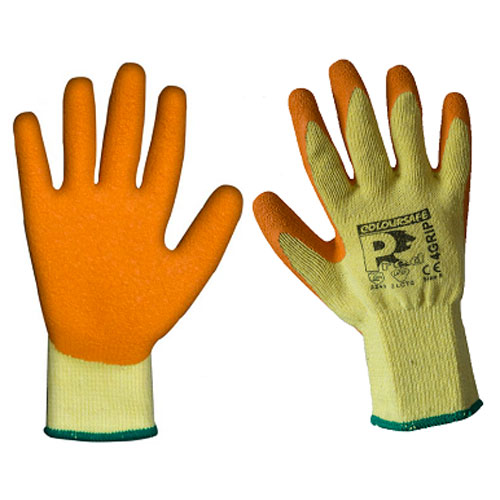 Pred 4 Grip Orange Latex gloves