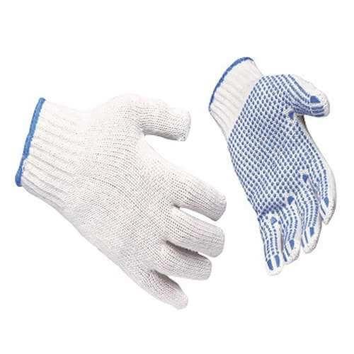 Polka dot work glove
