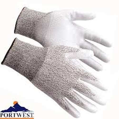 Cut 3 PU Palm work Glove