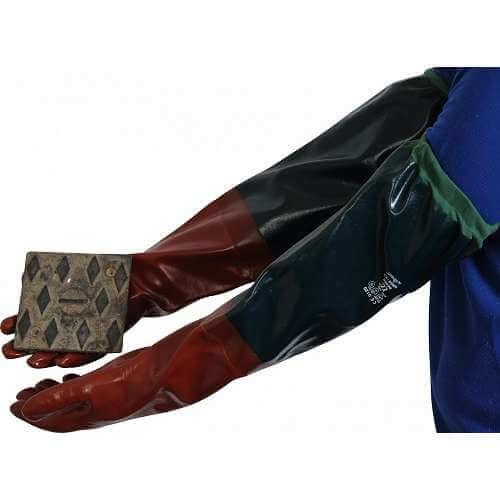 PVC Sleeved Gauntlet 65cm