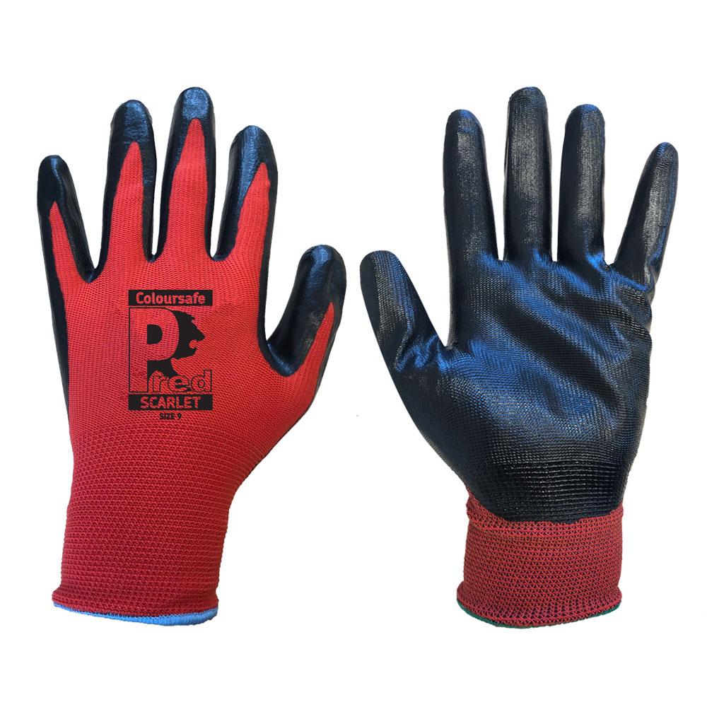 NSPL Pred grip nitrile gloves