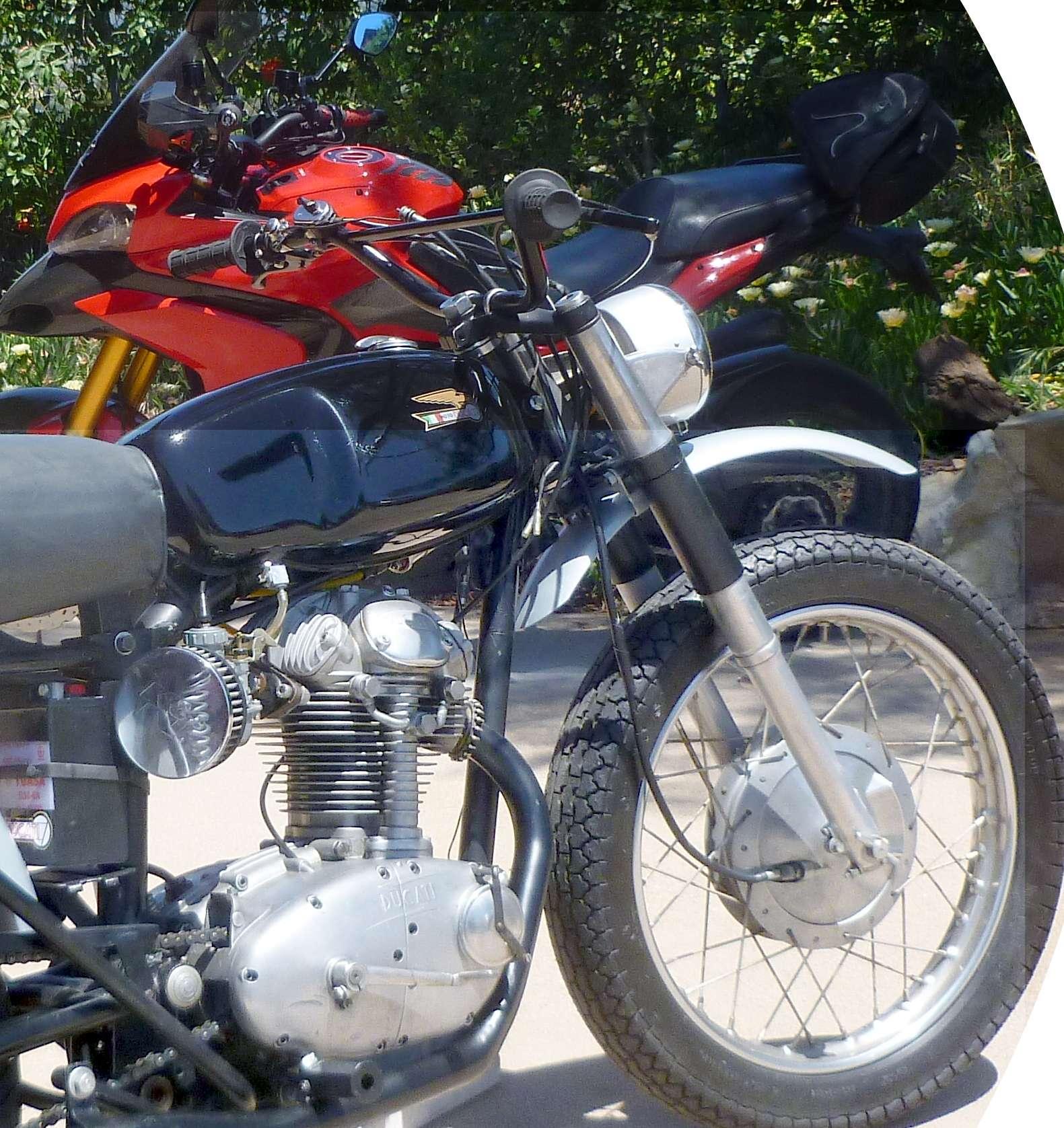 Ducati 1965 Scrambler 250 Narrow case 2