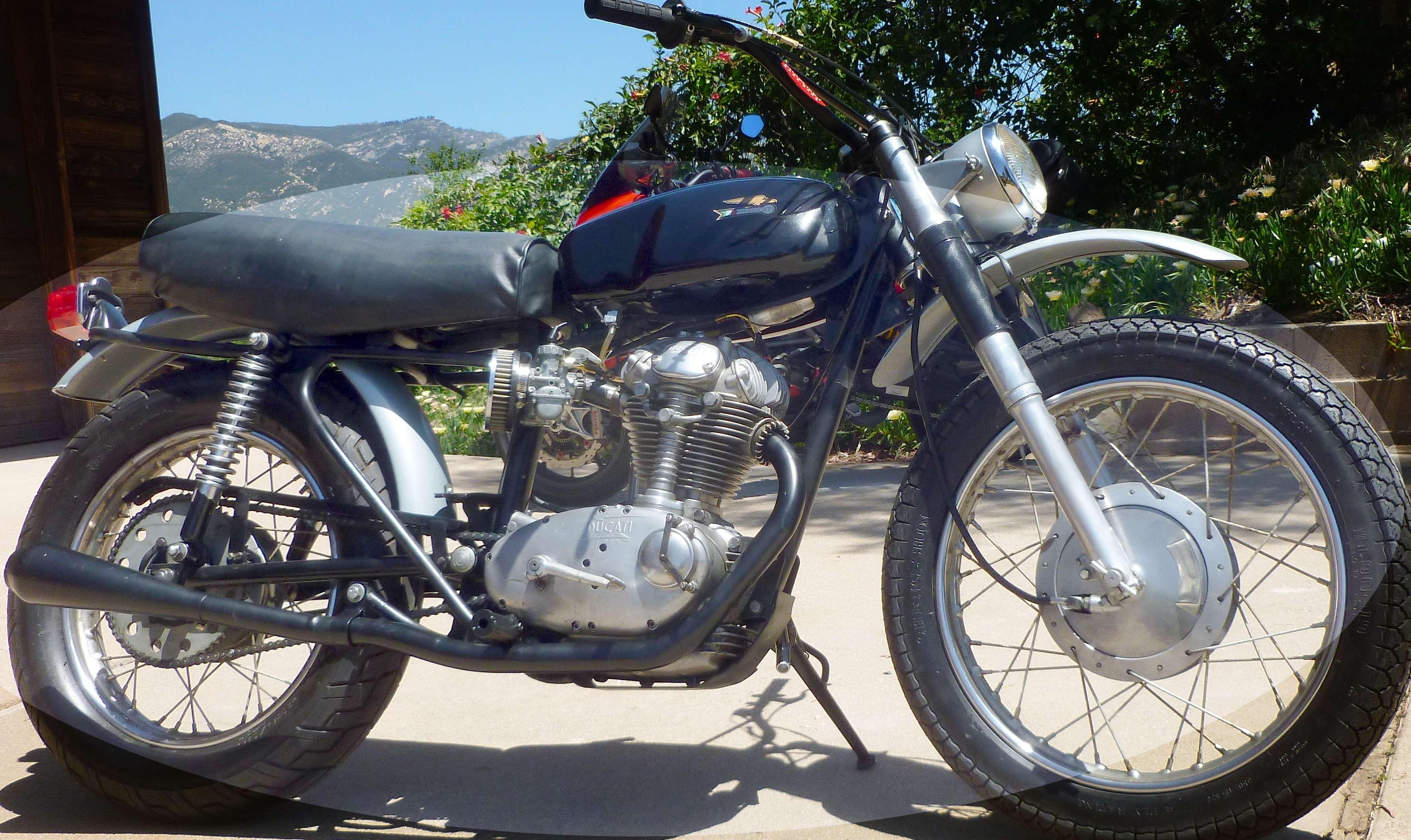 Ducati 1965 Scrambler 250 Narrow case 5