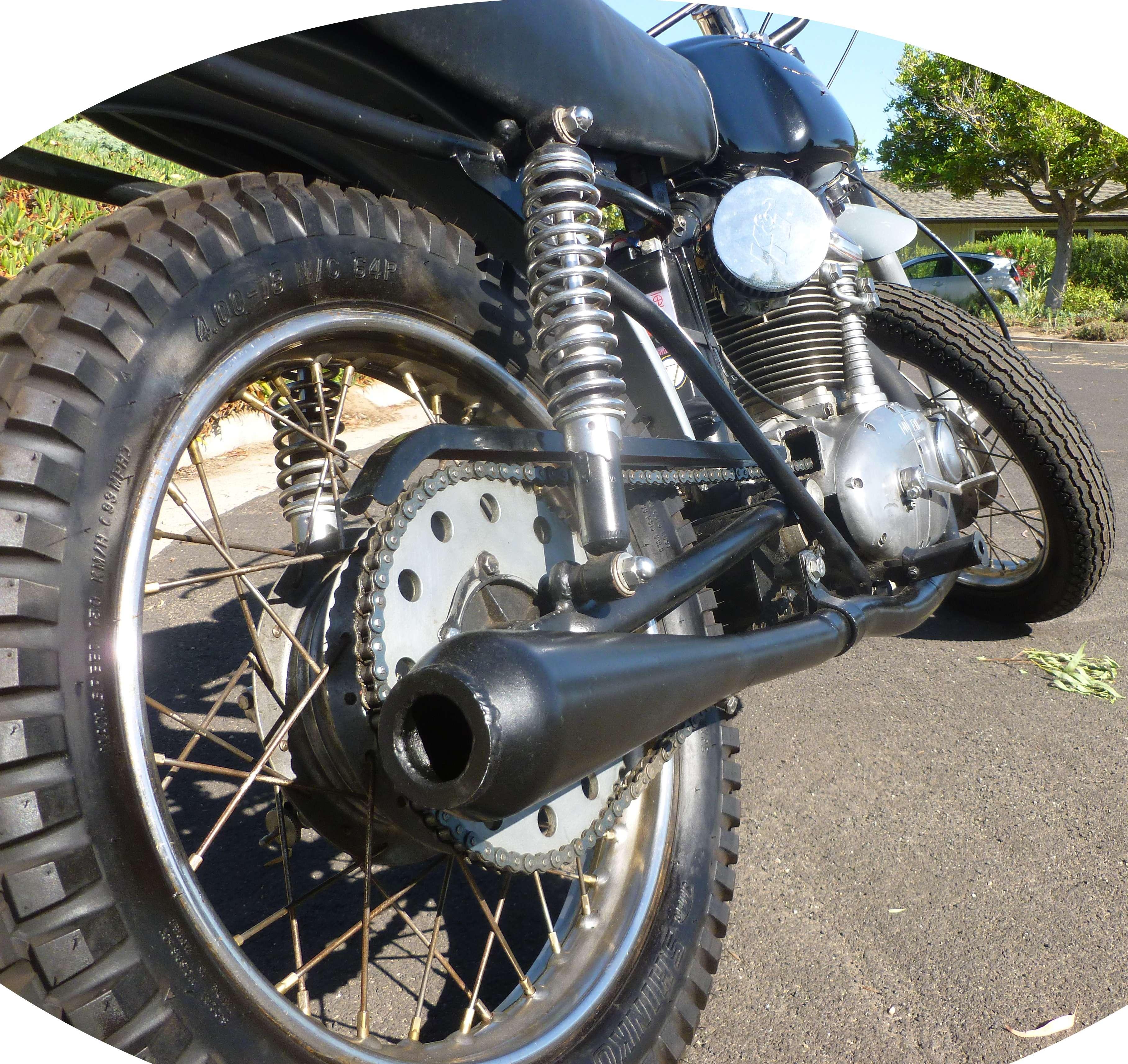 Ducati 1965 Scrambler 250 Narrow case 8