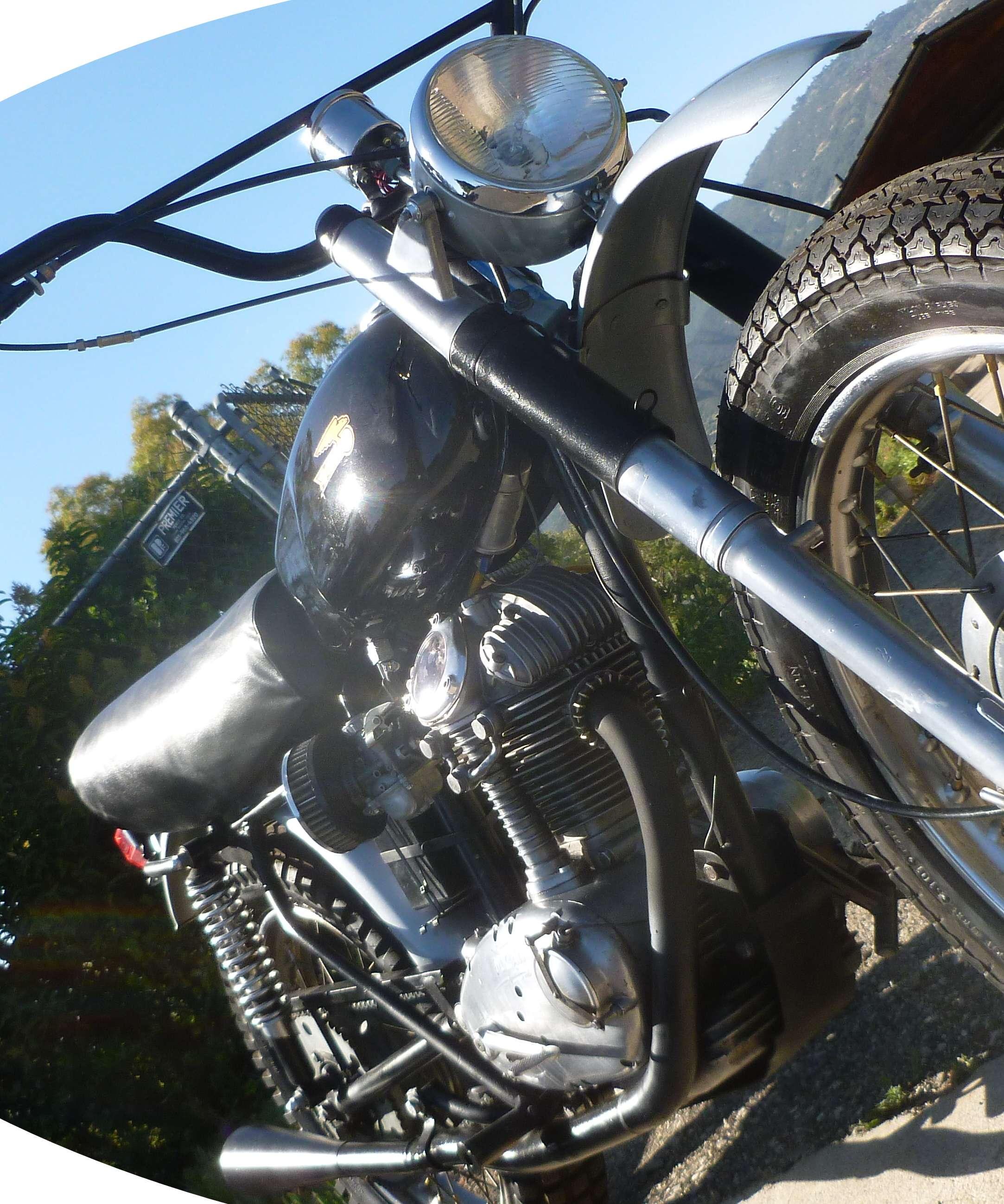 Ducati 1965 Scrambler 250 Narrow case 9