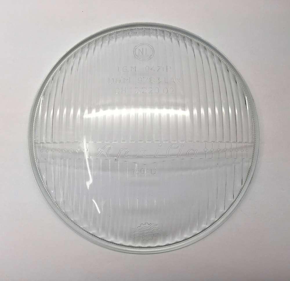 Aprilia 150mm Headlight Glass