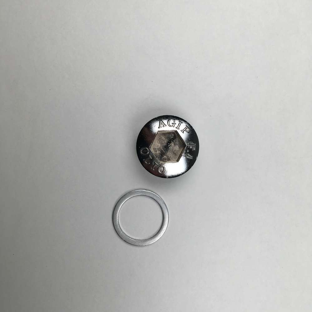 AGIP clutch cover inspection nut