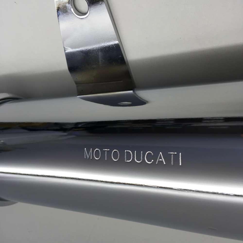Ducati Scrambler short Silencer