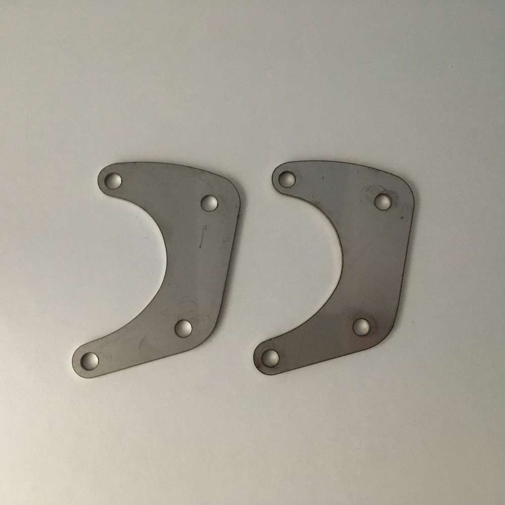 Engine plates Stainless steel  (narrow case)