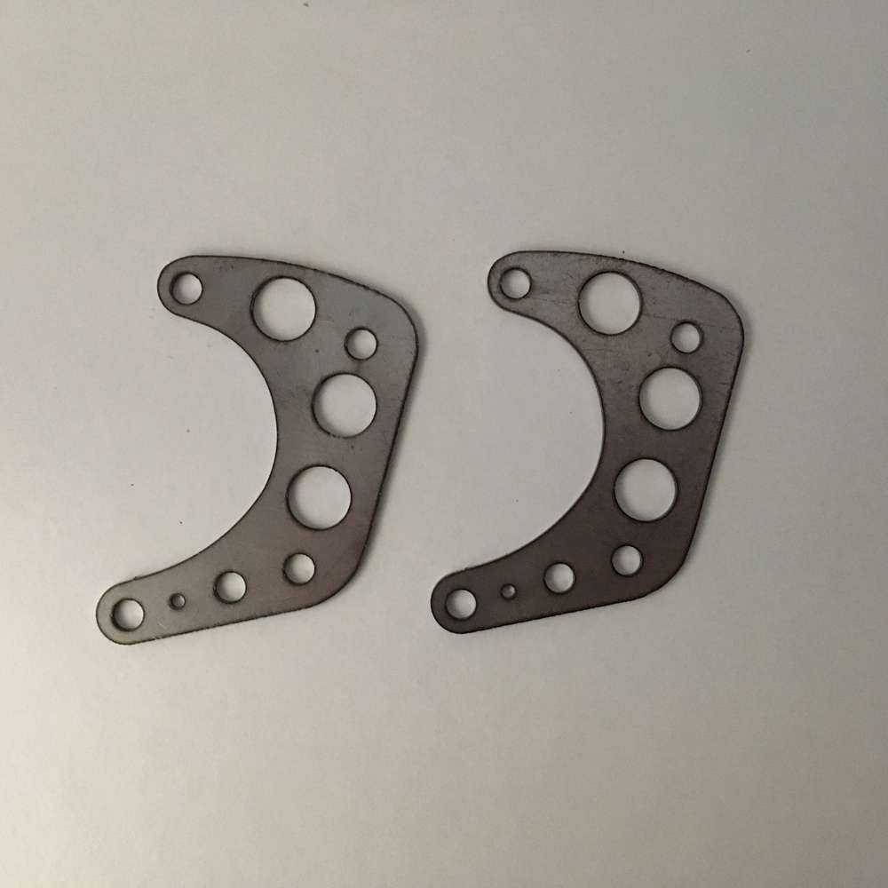 Light weight Stainless steel engine plates  (narrow case)