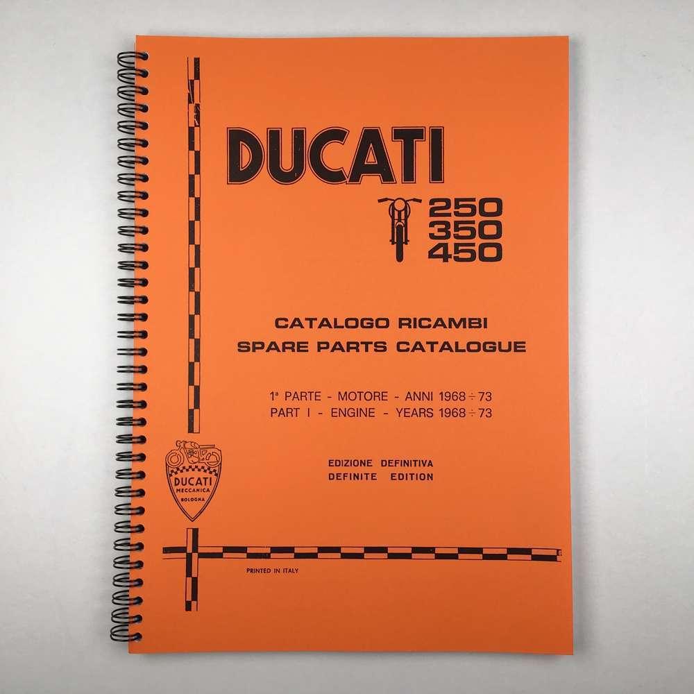 Ducati Wide case Engine parts catalogue