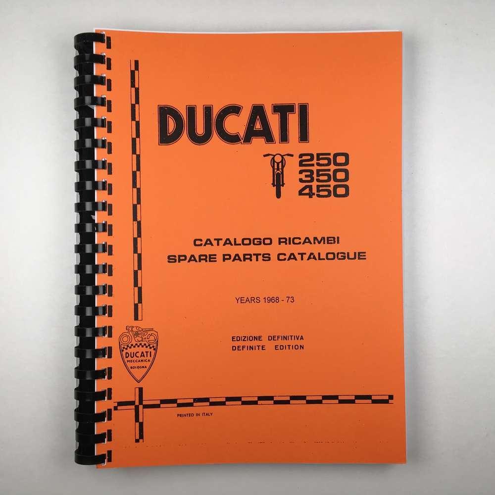 Ducati Wide case Engine and Cycle Parts catalogue