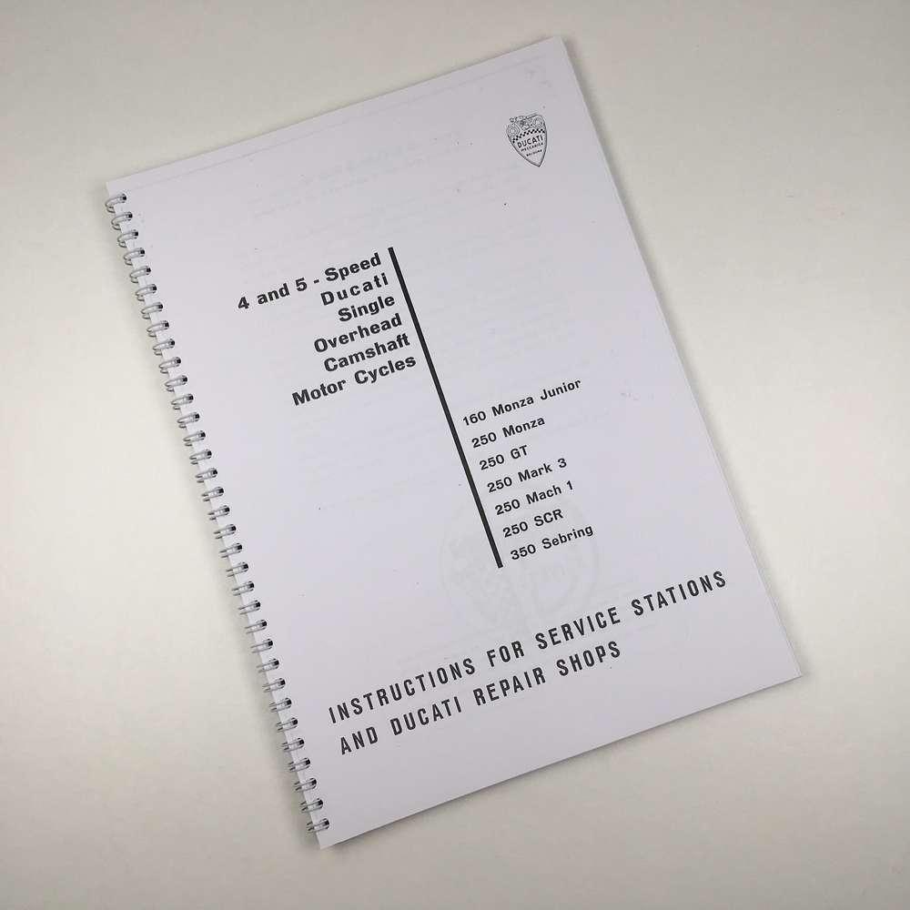 Ducati Workshop Manual 160 & 250-350